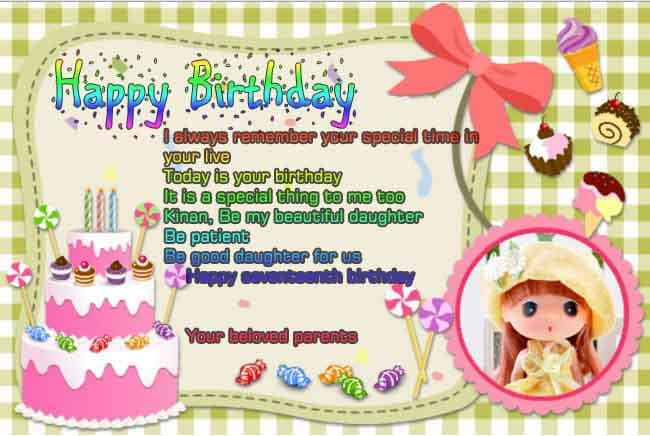 contoh greeting card ulang tahun bahasa inggris