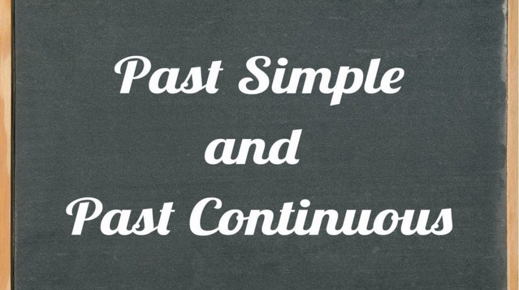 perbedaan past tense dengan past continuous tense
