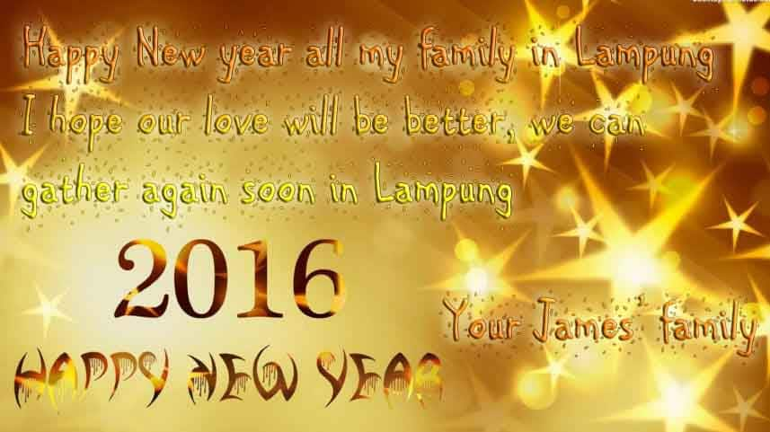 kartu ucapan tahun baru bahasa inggris