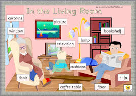 Benda Yang Ada Di Ruang Keluarga Bahasa Inggris - Berbagai Ruang