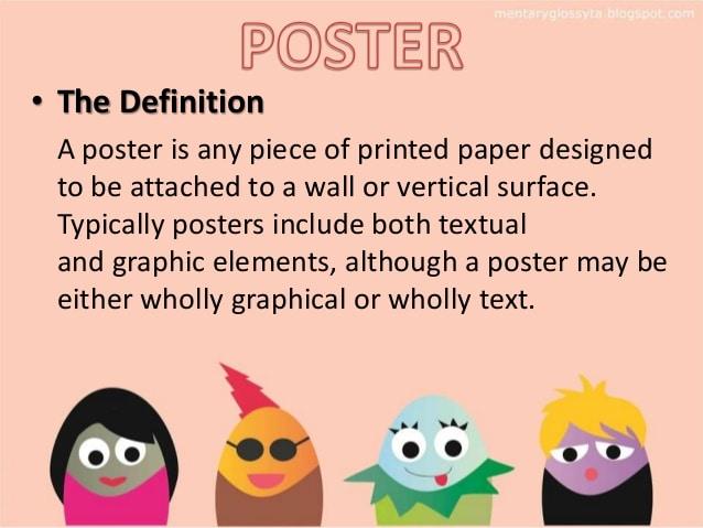 Perbedaan Poster Pamphlet Dan Banner Dalam Bahasa Inggris Disertai