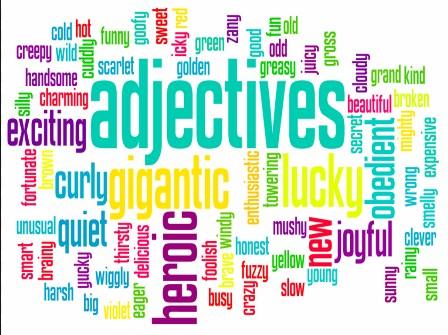 kata sifat adjective
