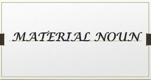 material+noun