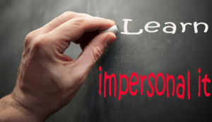 penjelasan materi impersonal it secara lengkap