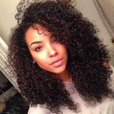 black curly
