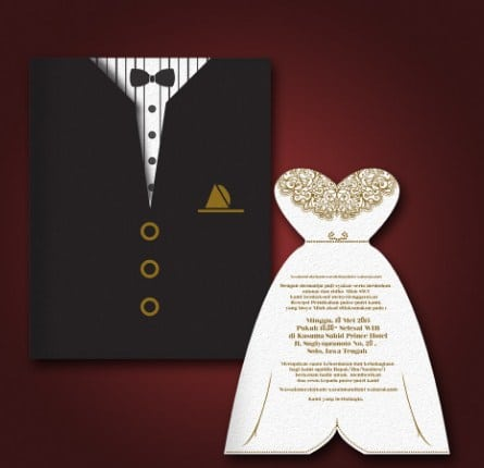 6 Contoh Wedding Invitation Card Dalam Bahasa Inggris