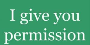 Giving Permission