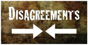 Giving Disagreement