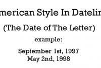 American Style In Dateline
