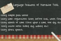 Language Feature Of Narrative Text