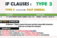 If Clause Type 3